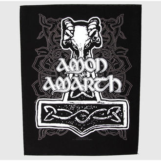 patch large - Amon Amarth - Hammer - RAZAMATAZ, RAZAMATAZ, Amon Amarth
