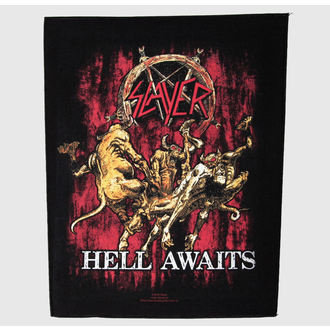 patch large Slayer - Hell Awaits - RAZAMATAZ - BP799