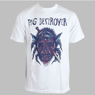 t-shirt metal men's Pig Destroyer - Blind (White) - RELAPSE - TS4262