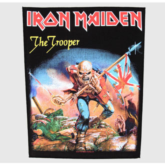 patch large Iron Maiden - The Trooper - RAZAMATAZ, RAZAMATAZ, Iron Maiden