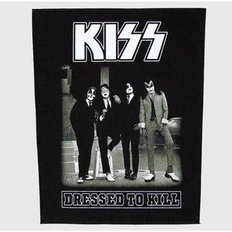 patch large Kiss - Dressed To Kill - RAZAMATAZ - BP857