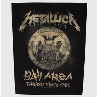 patch large Metallica - Bay Area Trash - RAZAMATAZ -BP955