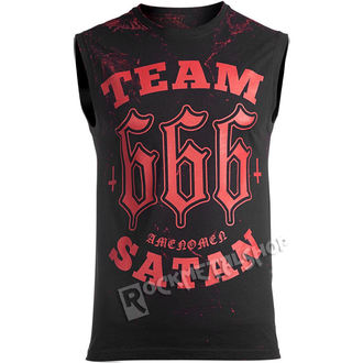 Top Men's AMENOMEN - TEAM SATAN - OMEN082BR ALLPRINT RED