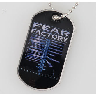 collar (dog tag) Fear Factory - Demanufacture - RAZAMATAZ, RAZAMATAZ, Fear Factory