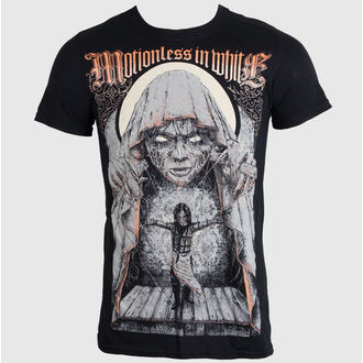 t-shirt metal men's Motionless in White - GRANDE FINALE- BLACK - LIVE NATION - PE11777TSBP