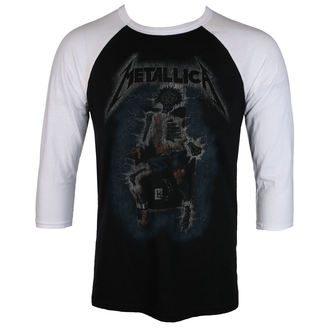 t-shirt metal men's Metallica - ELECTRIC CHAIR Baseball - NNM - RTMTLBBBWRTL