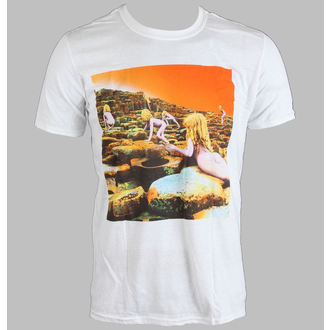 t-shirt metal men's Led Zeppelin - WHITE HOTH ALBUM COVER - LIVE NATION - PELZE093