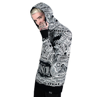 hoodie (unisex) KILLSTAR - Dollar Pull Over - Black