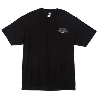 t-shirt street men's - GUTTER - METAL MULISHA - M445S18422.01_BLK