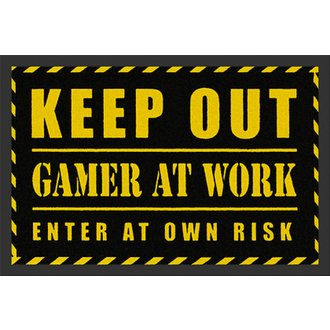 doormat ROCKBITES - Gamer At Work - 100783