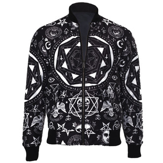 spring/fall jacket - Occult Reverse - KILLSTAR - Occult Reverse - Black