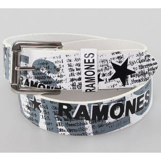 belt Ramones - White - BIOWORLD - BT106126RAM