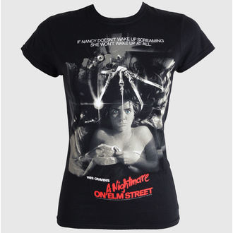 film t-shirt women's Noční můra z Elm Street - Movie Poster - LIVE NATION - PE10115SKB