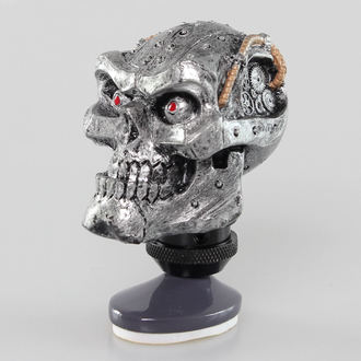 decoration (head gear lever) LETHAL THREAT - Cyborg Skull Shift Knob / Dash Topper - SK00023