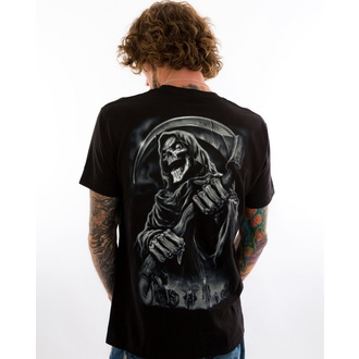 t-shirt hardcore men's - LT Riding With The Reaper - LETHAL THREAT - LT20262