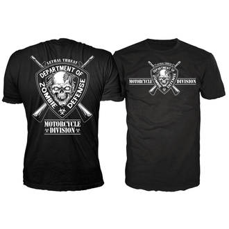 t-shirt hardcore men's - Lt Zombie Defense - LETHAL THREAT - LT20282