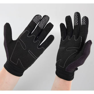 gloves LETHAL THREAT - Bones Hand - Black, LETHAL THREAT