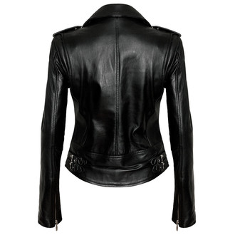 leather jacket women's - Vegan Biker - KILLSTAR - KIL517