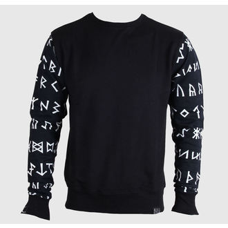 sweatshirt (no hood) unisex - Rune - KILLSTAR - Black/White