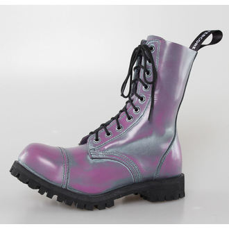 boots ALTER CORE - 10 eyelets - Purple Rub-Off - 551