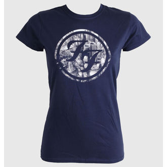 t-shirt metal women's Foo Fighters - City Circle - LIVE NATION - PEFFI0710
