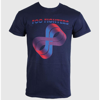 t-shirt metal men's Foo Fighters - Loops Logo - LIVE NATION, LIVE NATION, Foo Fighters