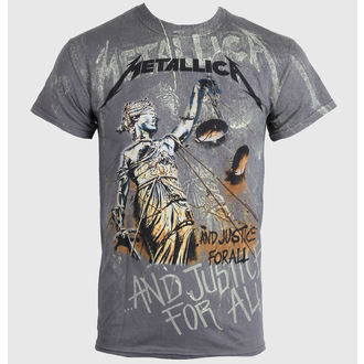 t-shirt metal men's Metallica - Justice Neon All - LIVE NATION - PE13114TSCP