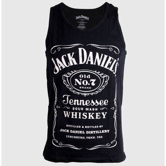 top men Jack Daniels - Black - TS141214JDS