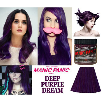 color to hair MANIC PANIC - Classic - Deep Purple Dream