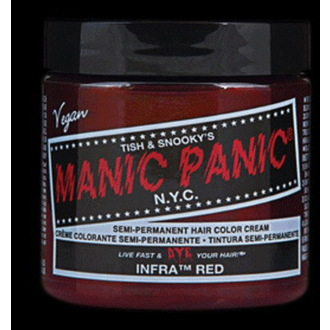 color to hair MANIC PANIC - Classic - Infra Red