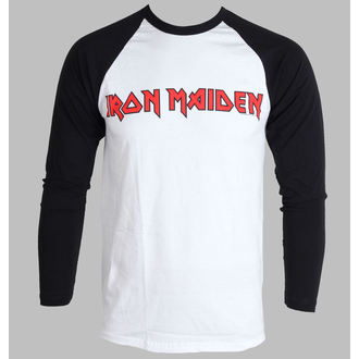 t-shirt metal men's Iron Maiden - Logo - ROCK OFF - IMRL03MW