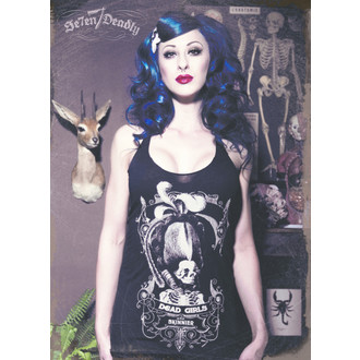 top women SE7EN DEADLY - Dead Girls are Skinner Razor Black - SE007