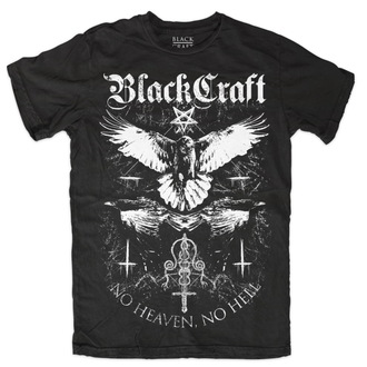 t-shirt men BLACK CRAFT - Raven - Black - MT091RN