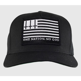 cap BLACK CRAFT - One Nation, No God - Black - SB002ON
