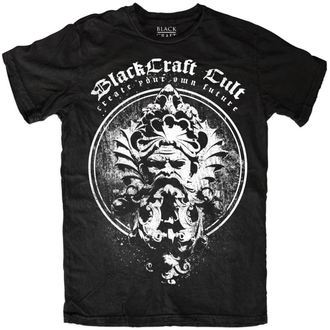 t-shirt men's - Visionary Circle - BLACK CRAFT - MT099VE