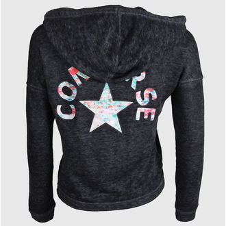 hoodie women's - WASHED TRIBLEND - CONVERSE - 09775C-003