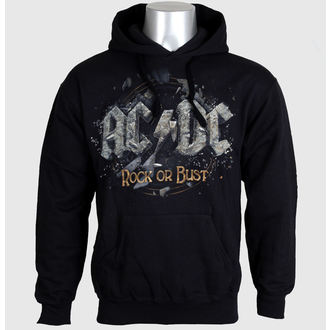 hoodie men's AC-DC - Rock Or Bust - LIVE NATION - PE12106HSBP