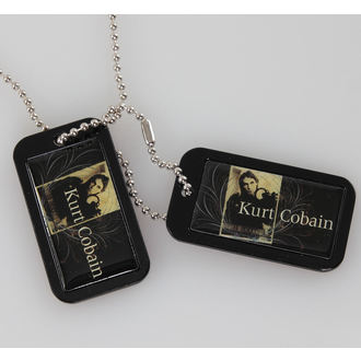 collar (dog tag) Kurt Cobain - Blue Crest - LIVE NATION - PE43244ACCP