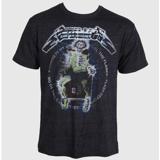 t-shirt metal men's Metallica - Electric Chair Char - BRAVADO - MET1447