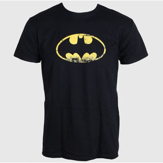 film t-shirt men's Batman - Distressed Logo - LIVE NATION - PE10777TSBP