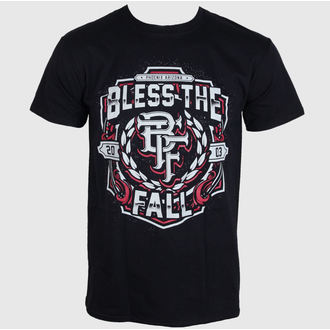 t-shirt metal men's Bless The Fall - Crest - LIVE NATION, LIVE NATION, Bless The Fall