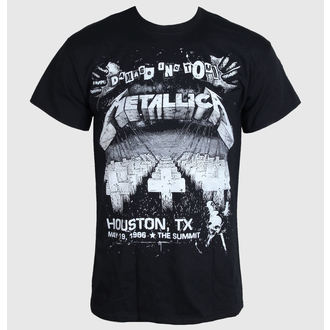 t-shirt metal men's Metallica - Damage Inc Live - LIVE NATION - PEMTL1230