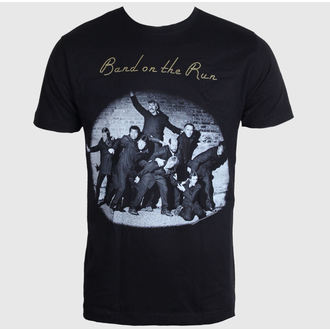 t-shirt metal men's Beatles - Band On The Run - LIVE NATION - PEPMC020