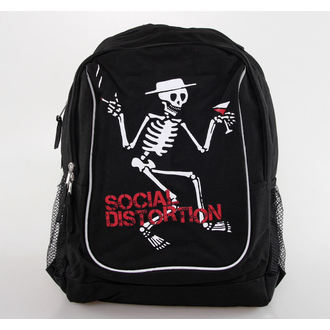 backpack Social Distortion - Jumbo Skelly - Bravado, BRAVADO, Social Distortion