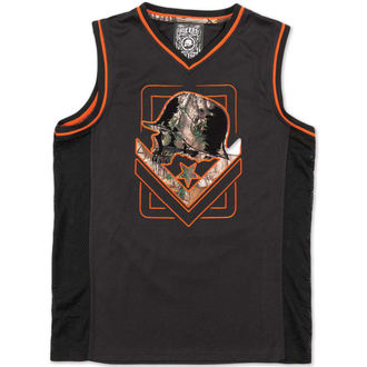 top men (jersey) METAL MULISHA - AK - BLK
