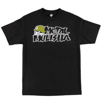 t-shirt street men's - OG CORE - METAL MULISHA - M15518139E.01_BLK