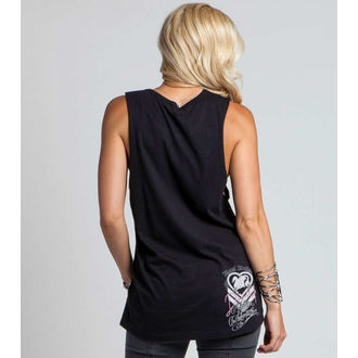 top women METAL MULISHA - DANI G FOUNTAINS - BLK