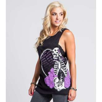 top women METAL MULISHA - PURE POETRY - BLK