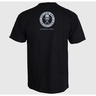 t-shirt hardcore men's - Modesti Badge - SULLEN - BLK