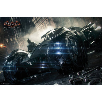 poster Batman - Arkham Knight Batmobile - GB Posters, GB posters